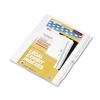 """80000 Series Legal Index Dividers, Side Tab, Printed """"38"""", 25/Pack"""