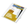 "80000 Series Legal Index Dividers, Side Tab, Printed ""43"", 25/Pack"