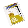 "80000 Series Legal Index Dividers, Side Tab, Printed ""53"", 25/Pack"