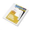 """Kleer-Fax 80000 Series Side Tab Legal Index Divider Set,  Printed """"101""""-""""125"""""""