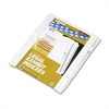 "90000 Series Legal Exhibit Index Dividers, Side Tab, Printed ""6"", 25/Pack"
