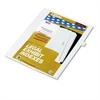 """Kleer-Fax 90000 Series Legal Exhibit Index Dividers, Side Tab, Printed """"9"""", 25/Pack"""