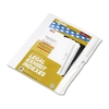 "90000 Series Legal Exhibit Index Dividers, Side Tab, Printed ""10"", 25/Pack"
