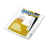 "90000 Series Legal Exhibit Index Dividers, Side Tab, Printed ""20"", 25/Pack"