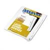 """90000 Series Legal Exhibit Index Dividers, Side Tab, Printed """"24"""", 25/Pack"""