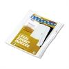 "90000 Series Alpha Side Tab Legal Index Divider, Preprinted ""E"", 25/Pack"