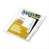 "90000 Series Alpha Side Tab Legal Index Divider, Preprinted ""K"", 25/Pack"