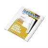 "90000 Series Legal Exhibit Index Dividers, 1/10 Cut Tab, ""Exhibit K"", 25/Pack"