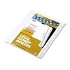 "90000 Series Side Tab Legal Index Divider Set, Printed ""51""-""75"""