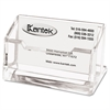 Kantek Acrylic Business Card Holder, Capacity 80 Cards, Clear