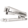 Kantek Clear Acrylic Standard Stapler, 25-Sheet Capacity, Clear