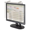 "Kantek LCD Protect Privacy Antiglare Deluxe Filter, 19""-20"" LCD, Silver"