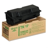 TK17 Toner, 6000 Page-Yield, Black