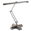 "Ledu Full Spectrum Adjustable Desk Lamp, 21"" High, Brushed Steel"