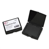 LEE Inkless Fingerprint Pad, 2 1/4 x 1 3/4, Black