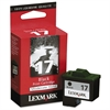 Lexmark 10N0217 (17) Ink, 210 Page-Yield, Black