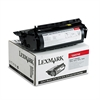Lexmark 12A5745 High-Yield Toner, 25000 Page-Yield, Black