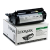 Lexmark 12A5845 High-Yield Toner, 25000 Page-Yield, Black