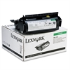 Lexmark 12A6865 High-Yield Toner, 30000 Page-Yield, Black