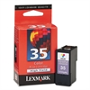 Lexmark 18C0035 (35XL) High-Yield Ink, 475 Page-Yield, Tri-Color