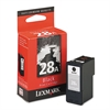 Lexmark 18C1528 (28A) Ink, 175 Page-Yield, Black