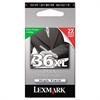 Lexmark 18C2170 (36XL) High-Yield Ink, 500 Page-Yield, Black