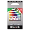 Lexmark 18C2180 (37XL) High-Yield Ink, 500 Page-Yield, Tri-Color
