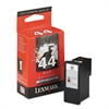 Lexmark 18Y0144 Ink, 500 Page-Yield, Black