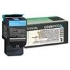 Lexmark C540H1CG High-Yield Toner, 2000 Page-Yield, Cyan