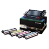 Lexmark C540X74G Phtocndctor Unit, 1 Black, 1 Cyan, 1 Magenta, 1 Yellow Developer Units