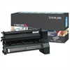 Lexmark C780A1MG Toner, 6000 Page-Yield, Magenta