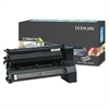 Lexmark C780H1YG High-Yield Toner, 10000 Page-Yield, Yellow