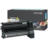 Lexmark C782X1YG Extra High-Yield Toner, 15000 Page-Yield, Yellow