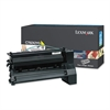 Lexmark C782X2YG Toner, 15000 Page-Yield, Yellow