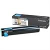 Lexmark C930H2CG High-Yield Toner, 24000 Page-Yield, Cyan