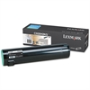 Lexmark C930H2KG High-Yield Toner, 38000 Page-Yield, Black