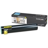 Lexmark C930H2YG High-Yield Toner, 24000 Page-Yield, Yellow