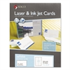 Microperforated Laser/Ink Jet Business Cards, 2 x 3 1/2, White, 250/Box