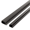 1-1/2 Locking Channel, Black, 1/Pack