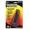 Caster Big Foot Doorstop, No Slip Rubber Wedge, 2 1/4w x 4 3/4d x 1 1/4h, Brown