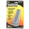 Big Foot Doorstop, No Slip Rubber Wedge, 2 1/4w x 4 3/4d x 1 1/4h, Gray