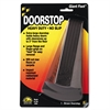Master Caster Giant Foot Doorstop, No-Slip Rubber Wedge, 3-1/2w x 6-3/4d x 2h, Brown