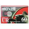 Maxell Dictation & Audio Cassette, Normal Bias, 60 Minutes (30 x 2)