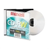 Maxell CD-RW, Branded Surface, 700MB/80MIN, 4x