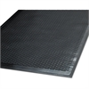 Guardian Clean Step Outdoor Rubber Scraper Mat, Polypropylene, 48 x 72, Black