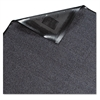 Platinum Series Indoor Wiper Mat, Nylon/Polypropylene, 36 x 60, Gray