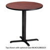 "Bistro Series 36"" Round Laminate Table Top, Mahogany"