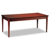 Mayline Luminary Series Wood Veneer Table Desk, 72w x 36d x 29h, Cherry