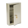 Steel Key Cabinet, 40-Key, Steel, Sand, 8 x 2 5/8 x 12 1/8