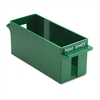 MMF Industries Porta-Count System Extra-Capacity Rolled Coin Plastic Storage Tray, Green